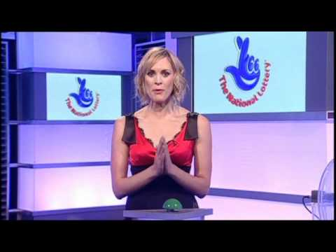Jenni Falconer [BBC1] - The National Lottery Pokies Draw.