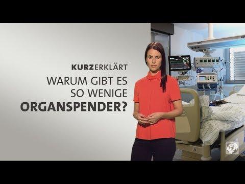 Warum gibt es so wenige Organspender?