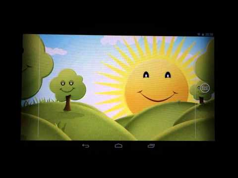 Video of Happy Cartoon Live Wallpaper