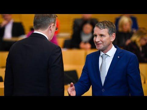 Ramelow (Linke) verteidigt verweigerten Höcke-Handschl ...