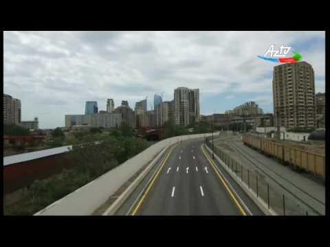 Prezident yeni yolun açılışında iştirak edib (видео)