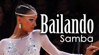 "Nino & Khrystyna Dancing the Samba ""Bailando"""