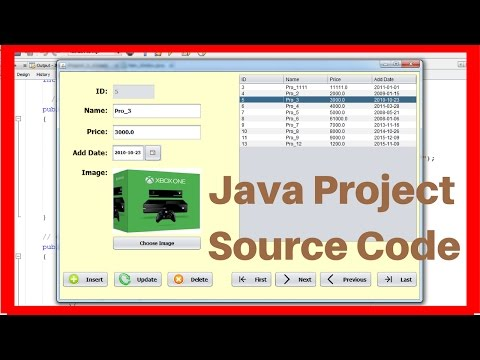 Java Project For Beginners Step By Step Using NetBeans And MySQL Database In One Video [ With Code ]