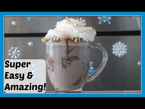 Nutella Hot Chocolate – DIY How to make Nutella Hot Chocolate