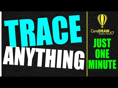 Coreldraw X7 Tutorial - Trace Anything With This Trick By AS GRAPHICS