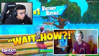 Ninja Reacts to Fortnite Funny Fails and WTF Moments! (Twitch Moments Reaction Ep. 222)