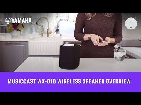 MusicCast WX-010 Wireless Speaker Overview