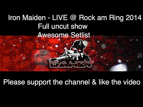 Iron Maiden – Live at Rock am Ring 2014