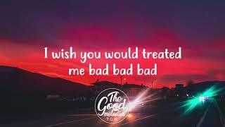 Lennon Stella - Bad (Lyrics / Lyric Video)