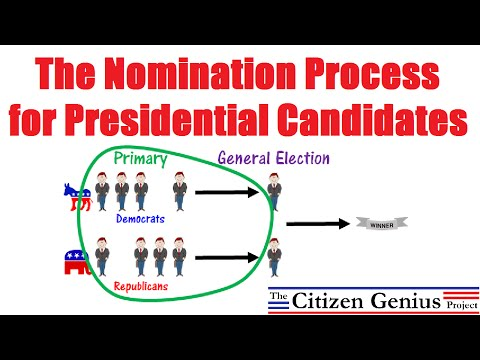 Nomination Process for Presidential Candidates
