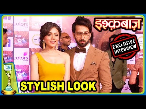 Nakuul Mehta & Jankee Parekh STYLISH Look For ITA