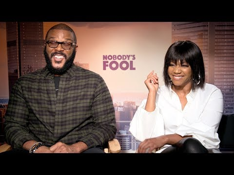 """NOBODY'S FOOL Tyler Perry & Tiffany Haddish Talk Creating His First """"R"""" Rated Comedy"""