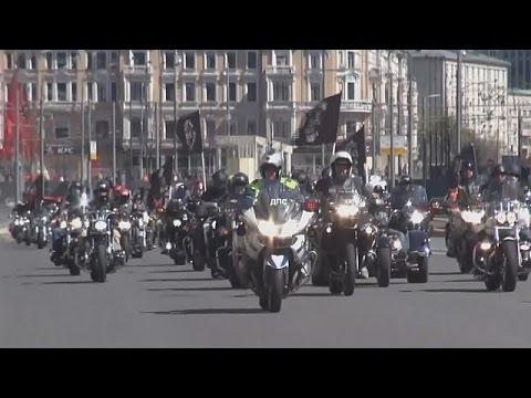 Γιορτή μοτοσυκλέτας στη Μόσχα