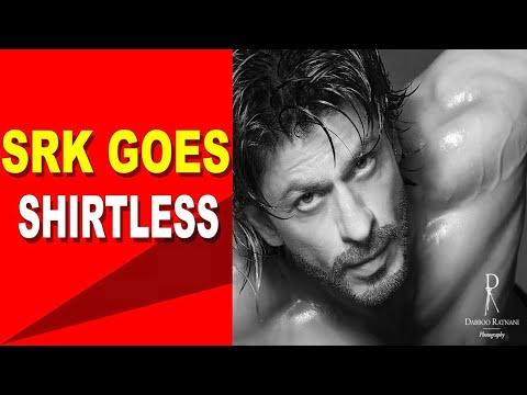 Shah Rukh Khan goes shirtless for Dabboo Ratnanis photoshoot