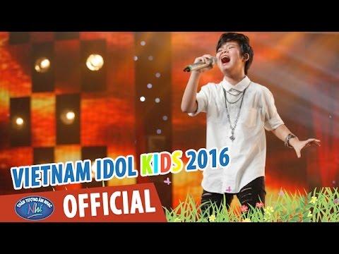 LÀM CHA - THẢO VY - VIETNAM IDOL KIDS 2016 GALA 2
