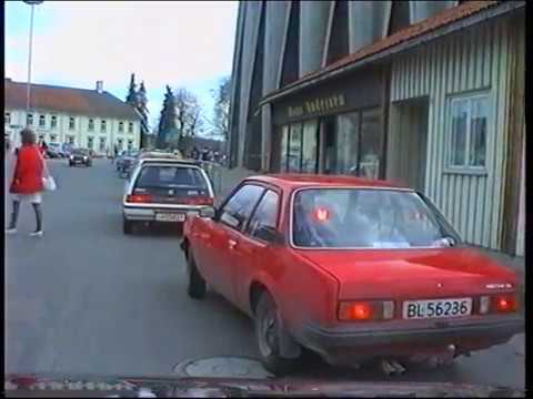 Rundtur i Kongsberg 1992