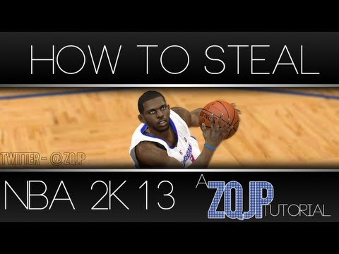 NBA 2K13 Tutorial: THE ULTIMATE TUTORIAL ON HOW TO STEAL | BECOMING A STEALING MASTER [HD]