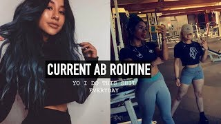 helloooooo ah. hi. how r u? me 2. feel free to list the ab/oblique exercise names (if you'd like) in the comment section cus i don't...