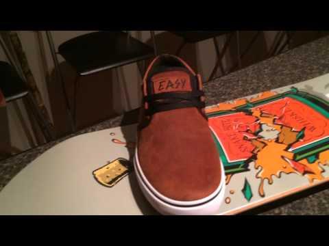 Unboxing Video: Flip Skateboards deck and 2 Fallen skate shoes
