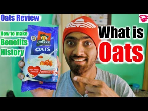 What Is Oats In Hindi | Oats Benefits, History, Breakfast Meal, Everything