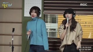 [Moonlight paradise] 9MUSES(Hyun-ah, Hyemi) - Singing Room Live [박정아의 달빛낙원] 20151128, clip giai tri, giai tri tong hop