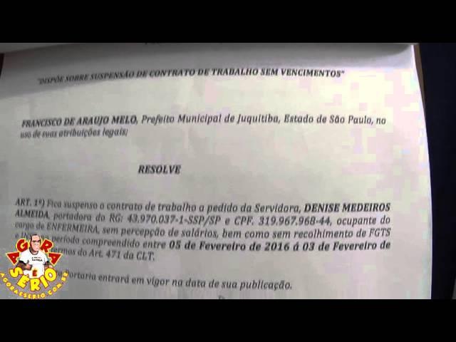 Portarias 2015 - Prefeito Francisco Junior