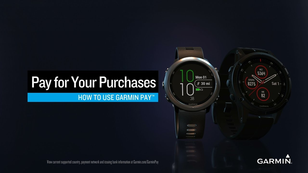 How to use Garmin Pay 2