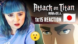 Nonton Attack On Titan   1x15 Reaction   Shingeki No Kyojin  Subbed  Film Subtitle Indonesia Streaming Movie Download