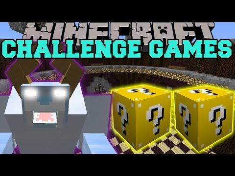 Minecraft: SNOW BEAST CHALLENGE GAMES – Lucky Block Mod – Modded Mini-Game