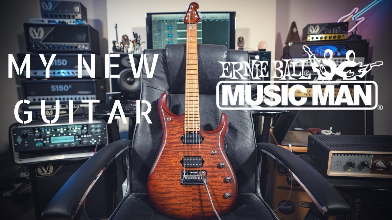 MY NEW GUITAR | Music Man JP15