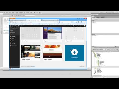 Create a WordPress Child Theme using DreamWeaver