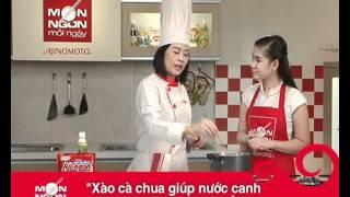 Món Ngon Mỗi Ngày - Canh ốc nấu tía tô