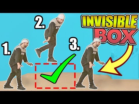 HOW TO DO The invisible Box Challenge Perfect