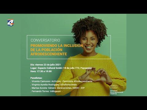 """""""Promoviendo la inclusión de la población afrodescendiente"""": Conversatorio este viernes en Paysandú"""