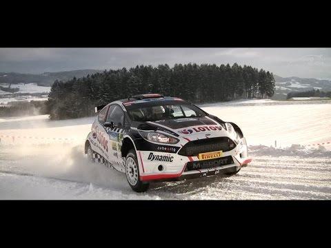 ERC Jänner Rallye 2015 - Kajetan Kajetanowicz / Jarek Baran
