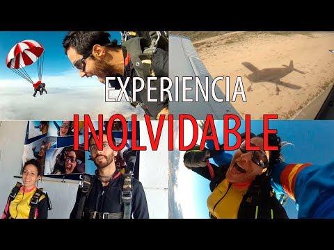La mejor EXPERIENCIA de nuestra VIDA!! Tirarse en PARACAIDAS!
