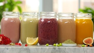 5 Secret-Ingredient Smoothie Recipes | EASY Breakfast Ideas by The Domestic Geek