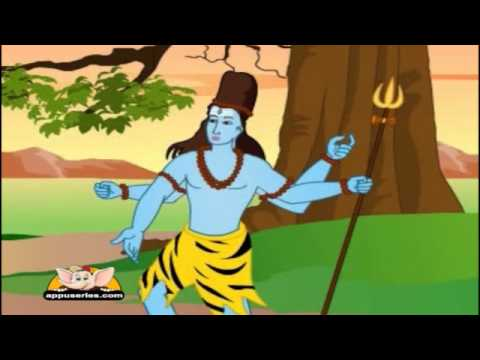 shiva - Watch more animated nursery rhymes at http://www.youtube.com/watch?v=6GmRBd5n_4g&list=PL9CAEB33BFB7948E9&feature=plpp_play_al To buy Appu Series CDs or Books...
