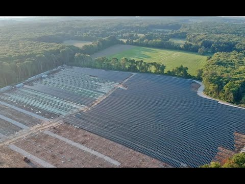 The NECA/IBEW Powering America Team Builds the Largest Solar Farm in Rhode Island