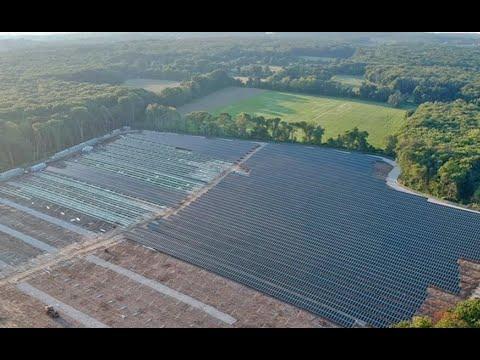 The NECA/IBEW Powering America Team Builds the Largest Solar Farm in Rhode Island