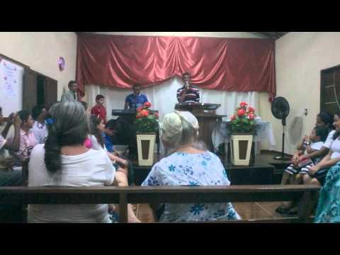 Congregação da assembleia de Deus do sitio Caraubas em Upanema-RN