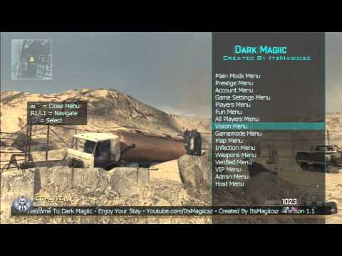 [Release] Dark Magiic RTE Mod Menu - Mw2 1.14