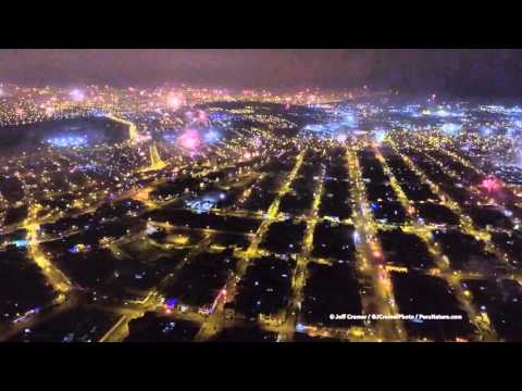 New Year  s Fireworks Over Lima Peru nbsp Are Absolutely