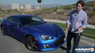 2013 Subaru BRZ Test Drive&Sports Car Video Review