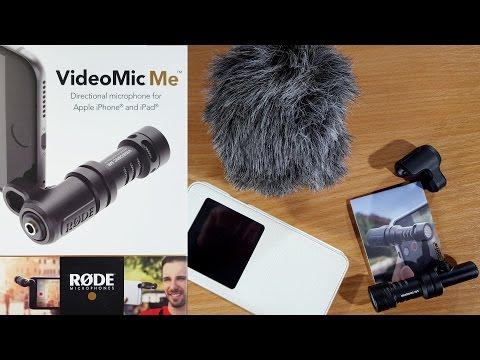 Microfon Rode Videomic Me in teste cu telefoane Android