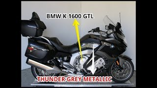 5. 2018 BMW K 1600 GTL Thunder Grey Metallic