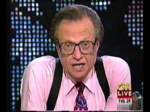Larry King Live, 2/24/1997 part 2/4
