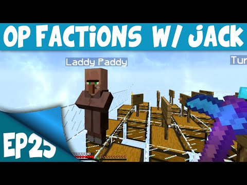Minecraft OP Factions Server EP25 w/ Jack – UNCLAIMED SKYVAULT RAID (1.8)