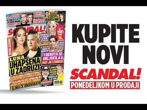 SCANDAL NOVINE: Luna uhapšena u Zadruzi, policija je ispitivala četiri sata! Ivan Marinković: Čuo sam da nisam otac Miljaninog deteta! I Bekuta ratuje sa Zoricom Brunclik