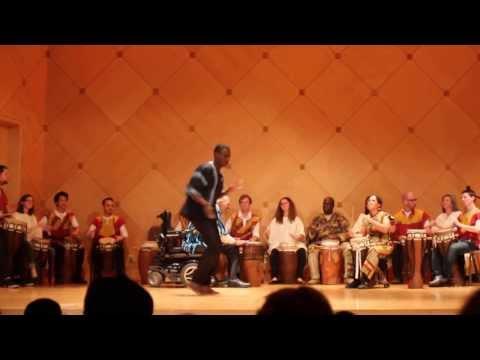 ASU African Drum Ensemble.  Chebu Jen.  Fall 2013